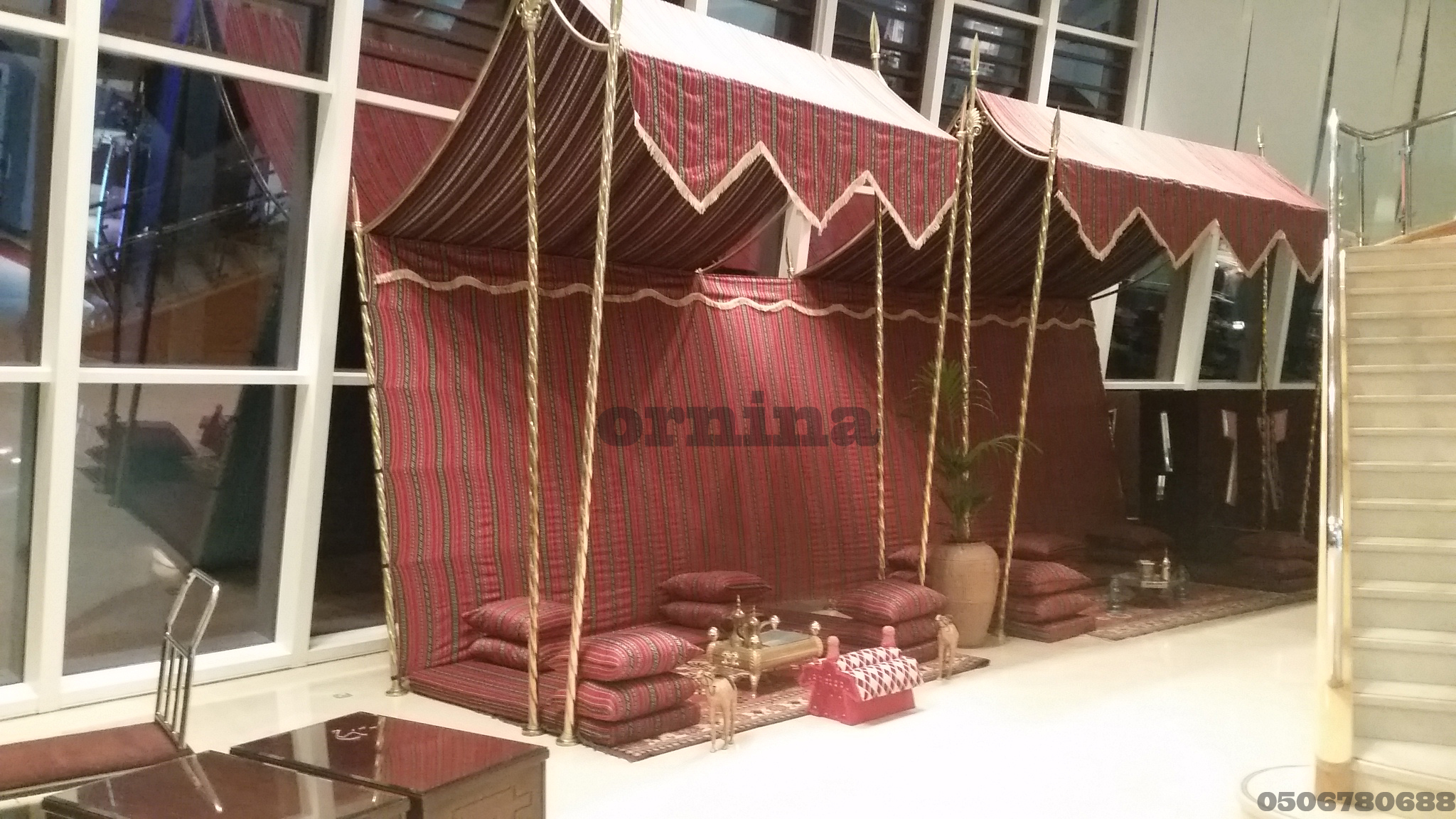 Arabic Tents & Arabic Tents | ORNINA EVENTS